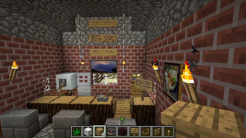 Kitchen Ideas for Minecraft